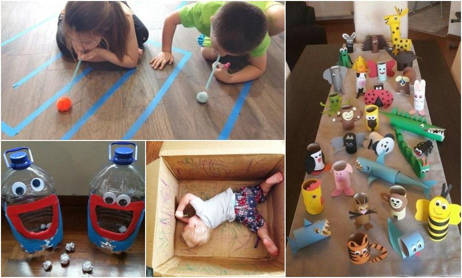 Čo robiť doma s deťmi