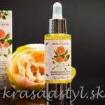 Recenzia: MANUFAKTURA – Omladzujúci & liftingový pleťový olej s cenným ružovým olejom a koenzýmom Q10