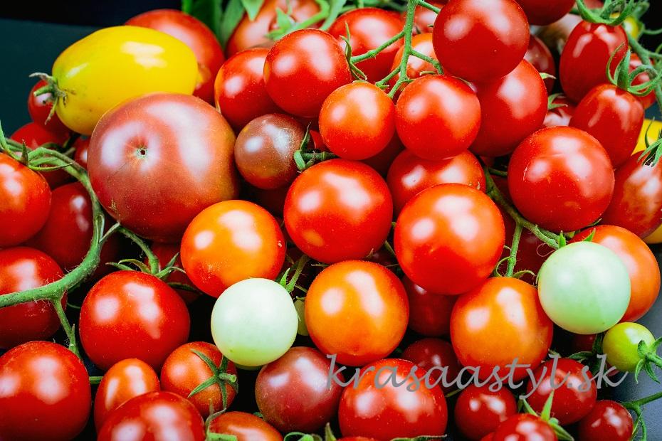 paradajky pre krásu