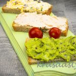 Recepty na 3 rýchle nátierky: Z avokáda, tvarohu a šunky