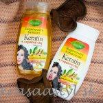 Recenzia: BIONE Regeneračný šampón a kondicionér KERATIN + ARGANOVÝ OLEJ