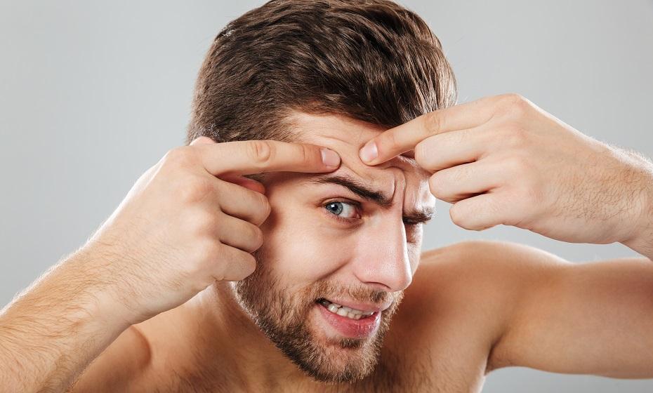 Čo znamenajú vyrážky na brade