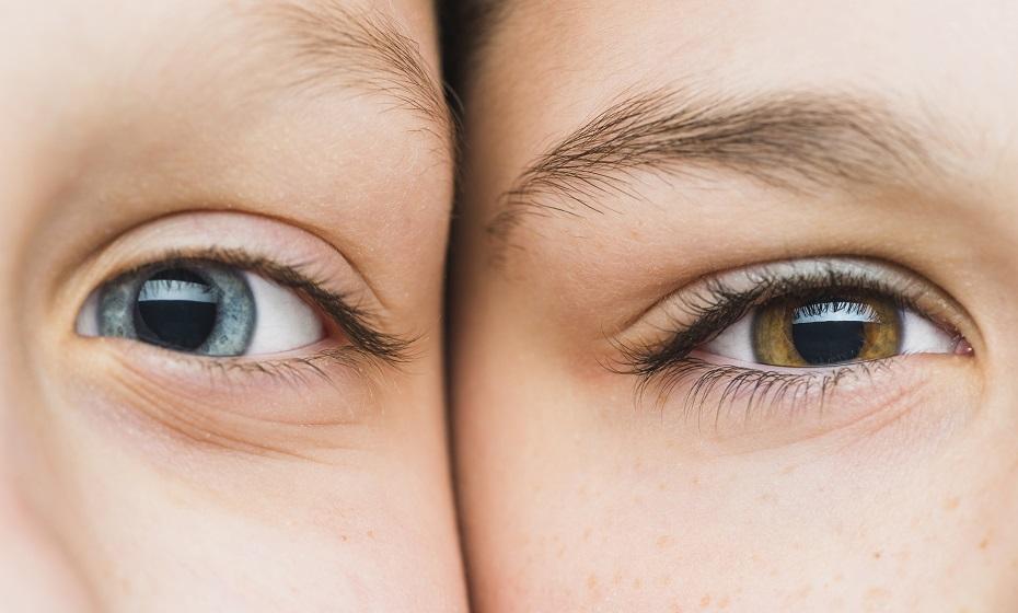 Farba očí a charakteristika