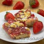 Recept na jahodový koláč s posýpkou: Dobrota aj pre vegánov