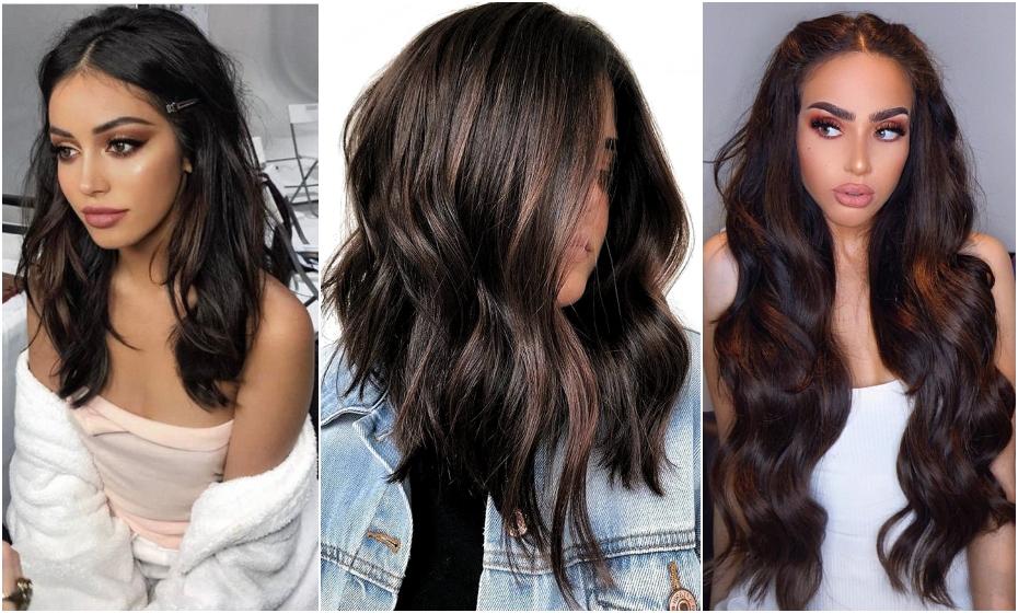 Komu sa hodia tmavé hnedé vlasy