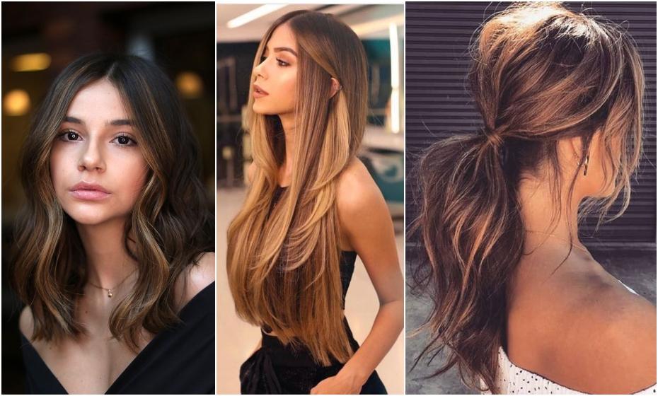 hnedé vlasy