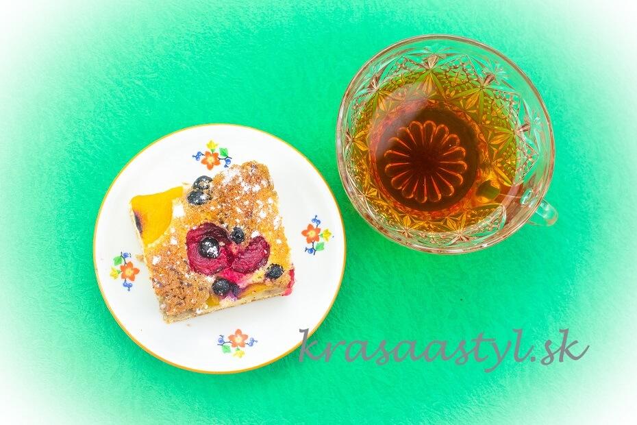 ovocná bublanina recept