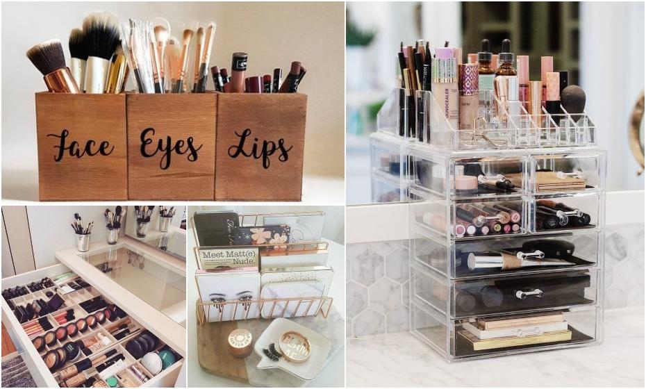 Zisti, ako skladovať kozmetiku prakticky a efektne