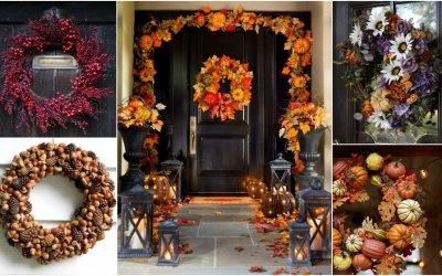 Jesenné vence na dvere: Veľa čarokrásnej inšpirácie