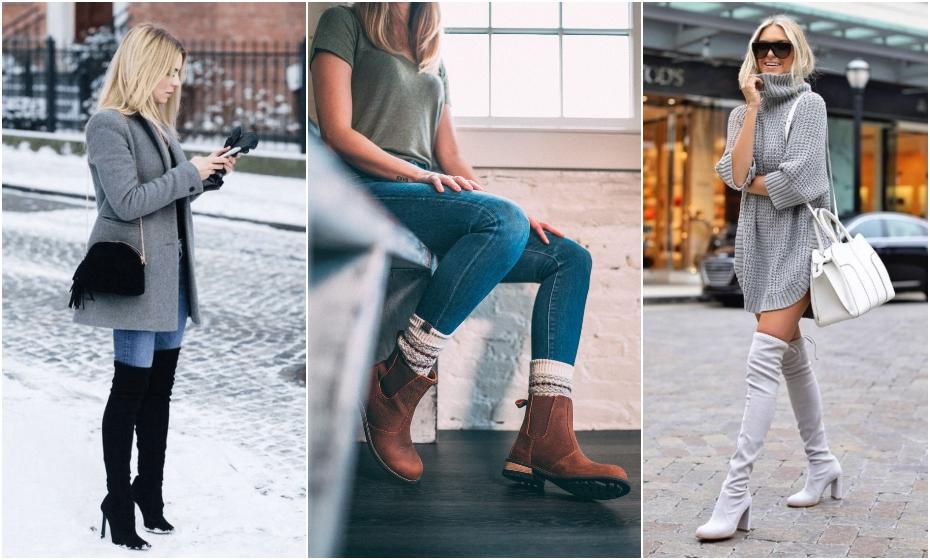 dámske čižmy na zimu