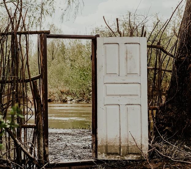 snár dvere