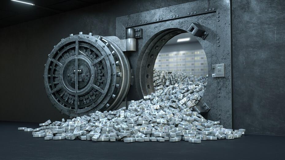 snár peniaze vidieť