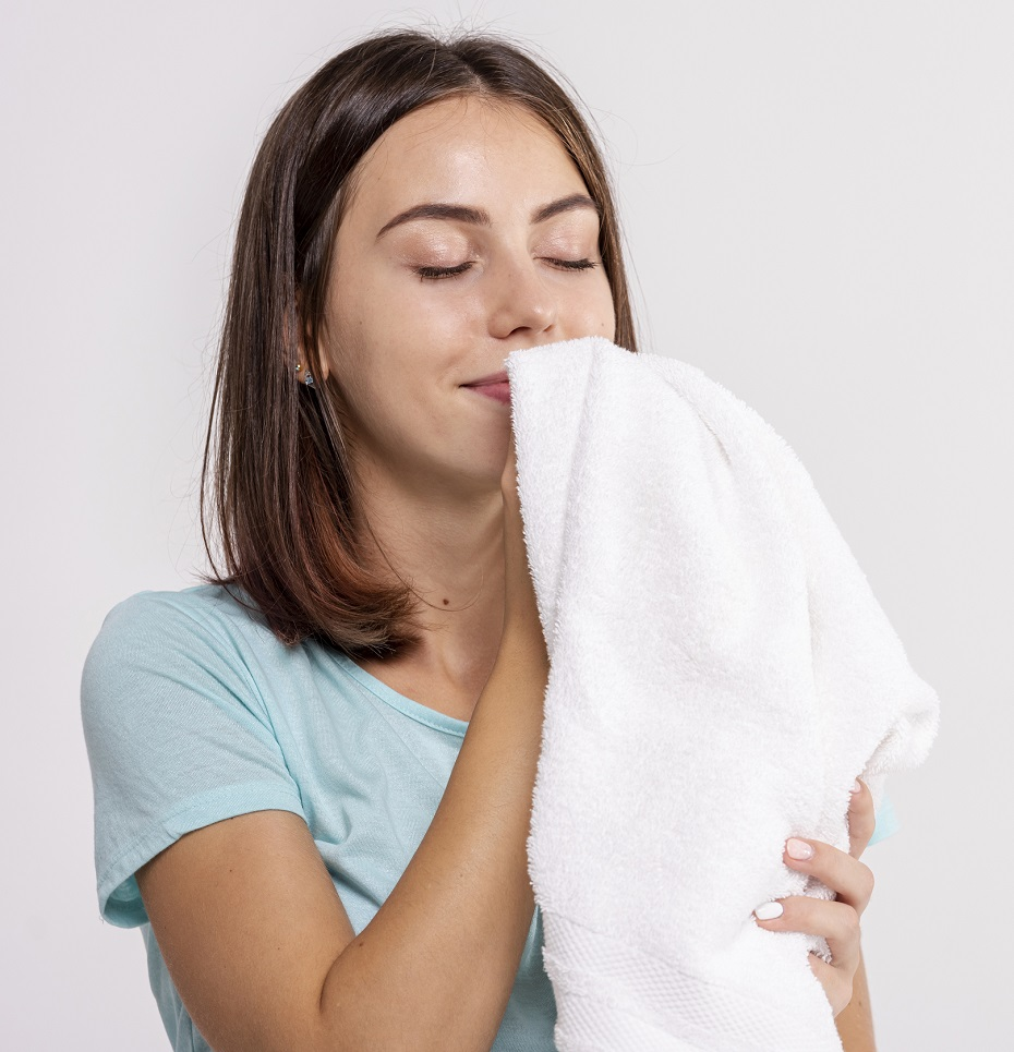 aby uteráky neboli zatuchnuté