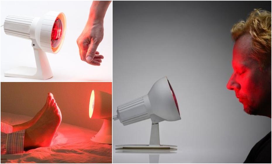 infračervená lampa účinky