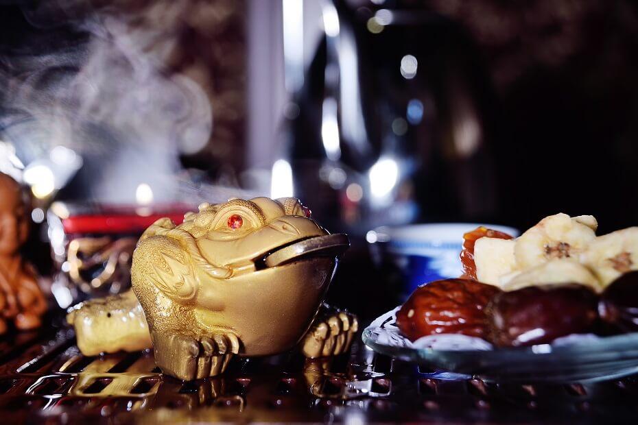 trojnohá žaba