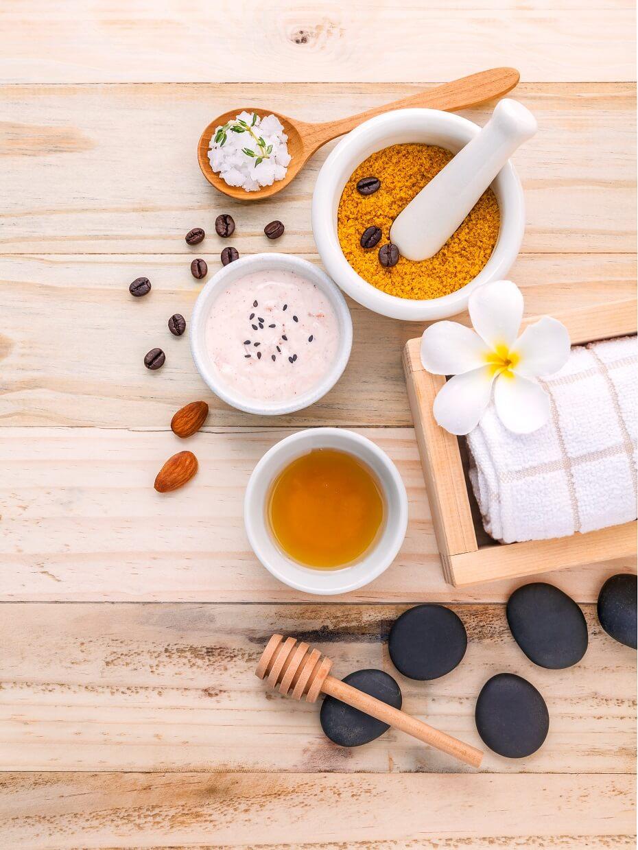 medová maska ingrediencie