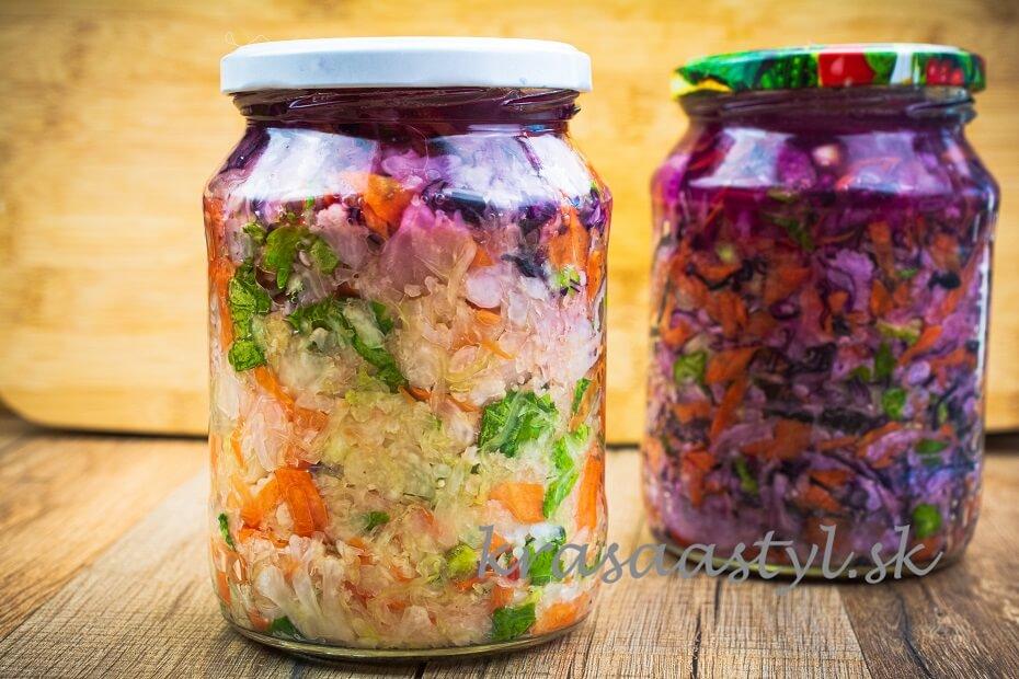 recept kvasená zelenina