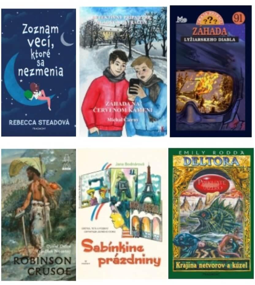 knihy pre deti od 10 rokov dobrodružné a dievčenské