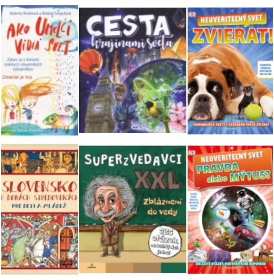 náučné knihy pre deti od 10 rokov