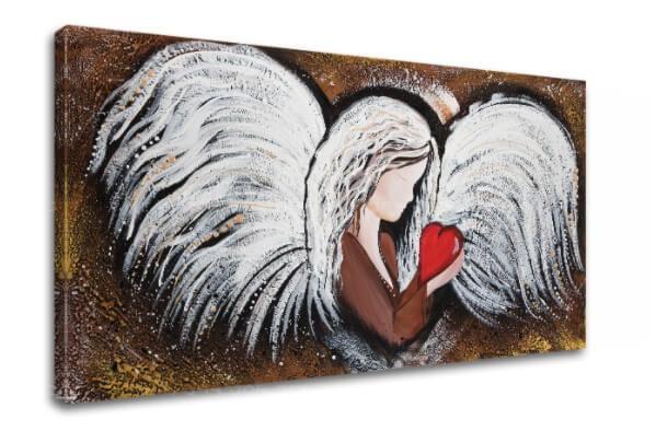 anjel na plátne