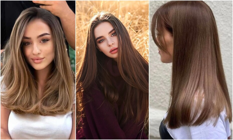 odtiene hnedej farby na vlasy