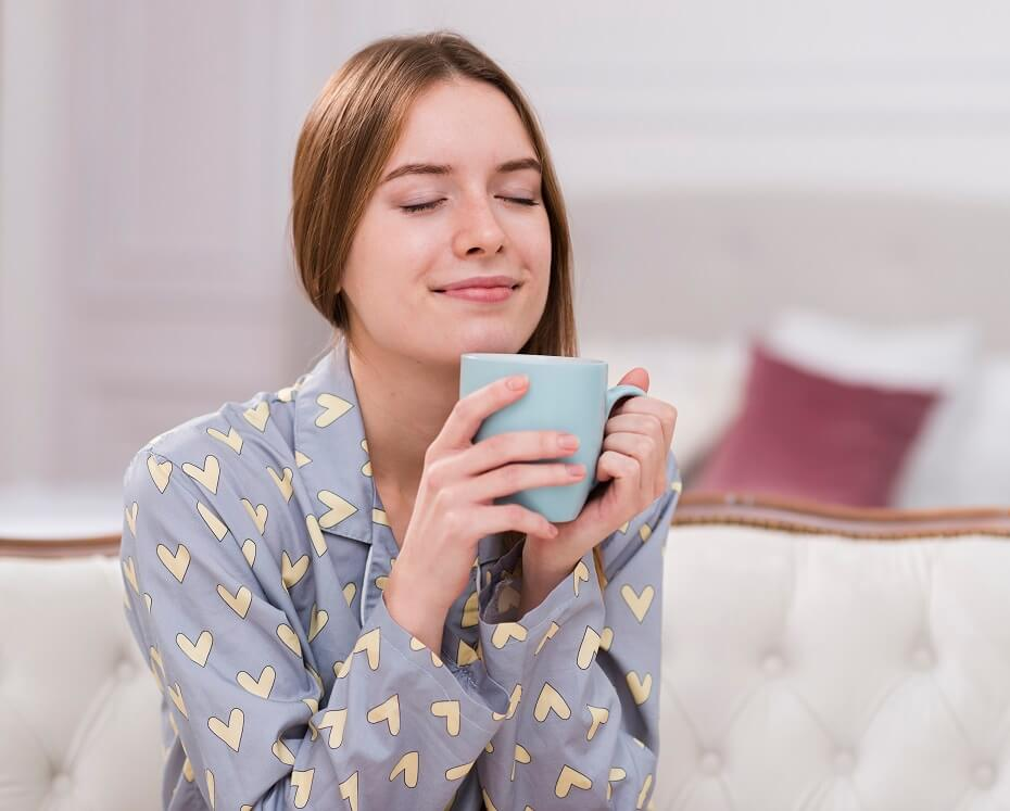 čaj z malinových listov