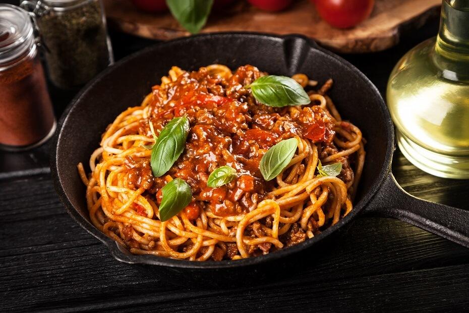 bolognese recepty na špagety