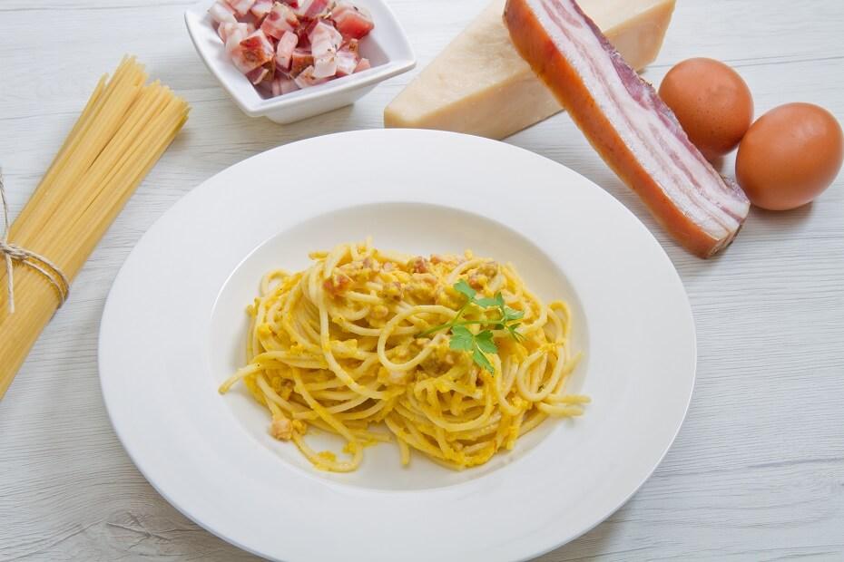 recept na špagety carbonara