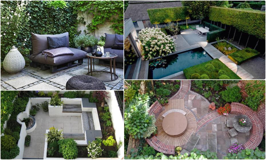 čo do malej záhrady na dvore